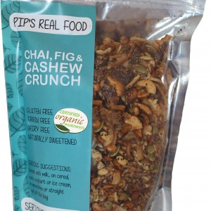 Chai, Fig & Cashew Crunch Packet.